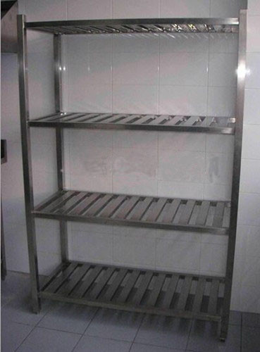 Durable Stainless Steel Display Racks for Supermarket / store / bakery