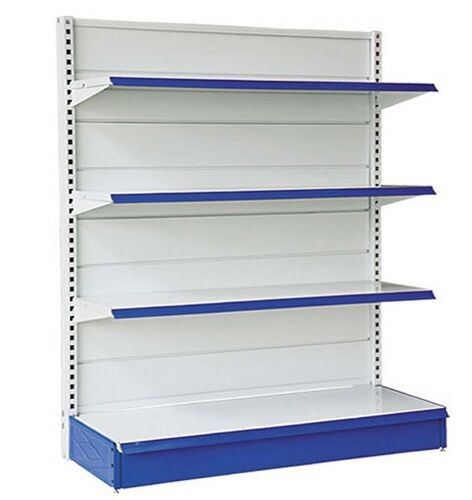 Wall Shelf And Island Gondola Supermarket Display Shelving / Heavy Duty Rack
