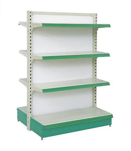 Double sided Supermarket Display Shelving Stationary Display Stand ISO9002
