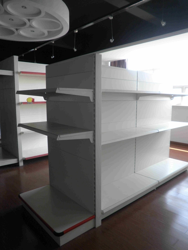 Fixed Grocery Store Shop Supermarket Display Shelving Customized L900 * W450 * H1600 mm